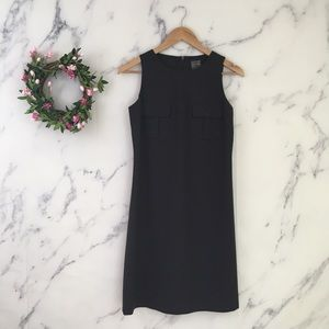 Calvin Klein 100% Wool Shift Dress